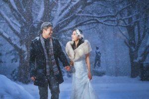 【海外婚紗】北海道 札幌 雪景